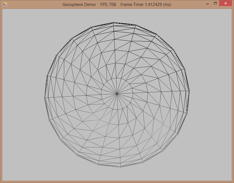 Geodesic Sphere Tessellation